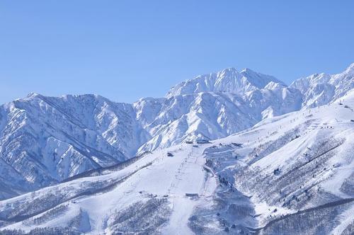 長野県の白馬八方スキー場