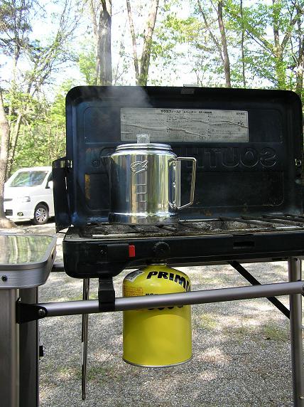 キャンプはコーヒーから